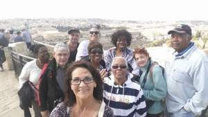 on top of Mount of Olives