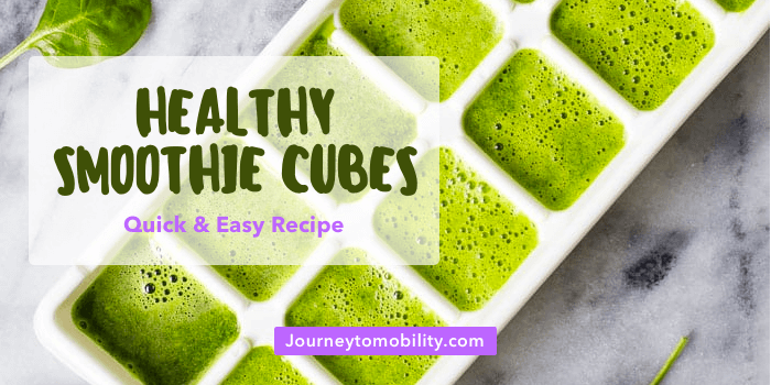 Green Smoothie Cubes Recipe