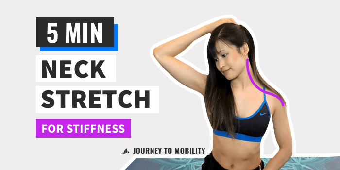 Neck Stretches for Stiff Neck (EASY Follow Along)
