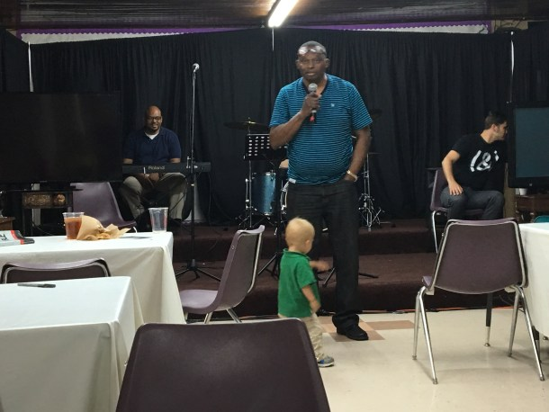 And Pastor Larry tag-teamed with him (lwith a little help from Judah)