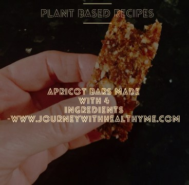 Apricot Bars Made with 4 Ingredients