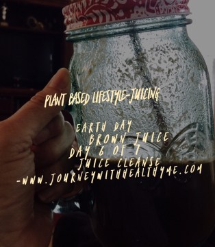 Earth Day Brown Juice