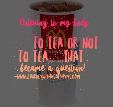 To Tea or Not to Tea