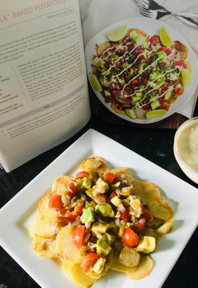 Nachos Style Potatoes