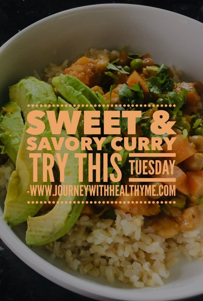 Sweet & Savory Curry