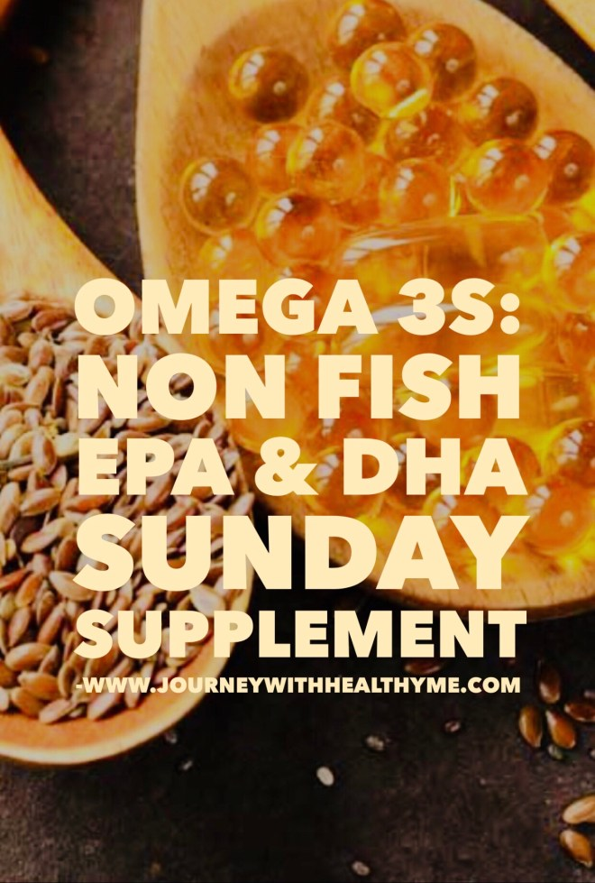 Omega 3s Non Fish EPA and DHA