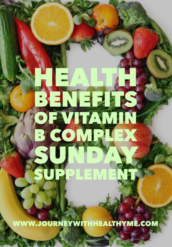 Health Benefits of Vitamin B Complex