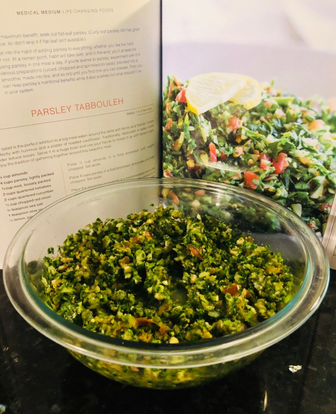 Parsley Tabbouleh - Journey With Healthy Me