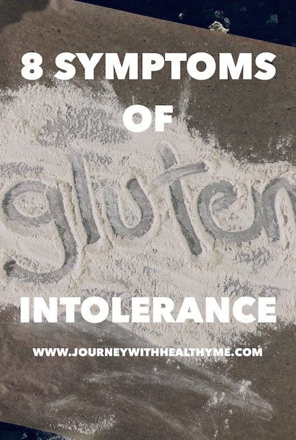 8 Symptoms of Gluten Intolerance
