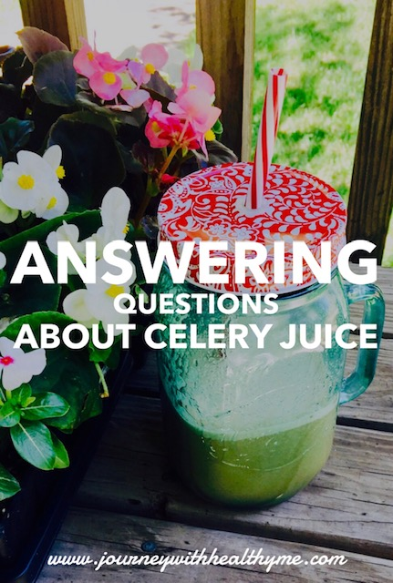 Answering Questions About Celery Juice