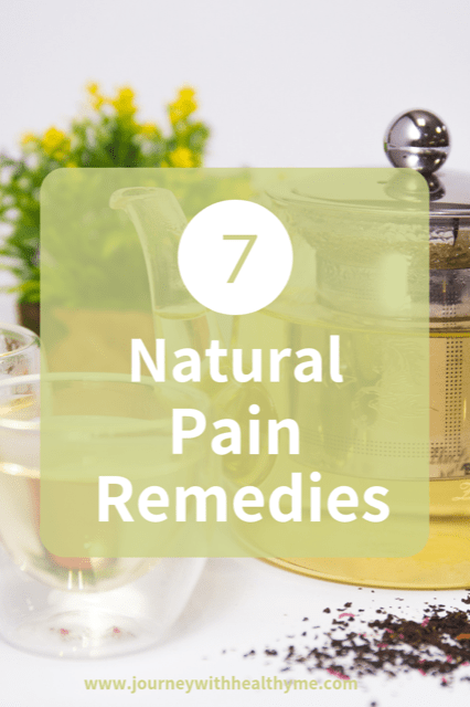 7 Natural Pain Remedies