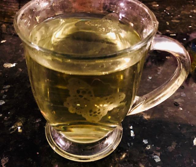 Freshly Brewed Fennel Tea