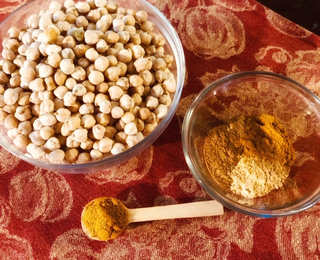 Curried Chickpeas Spices