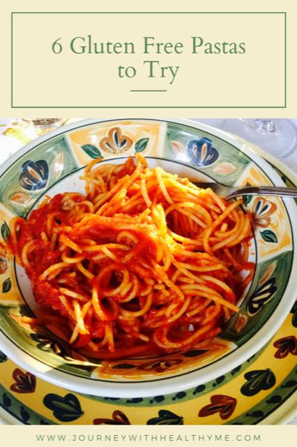 6 Gluten Free Pastas title meme