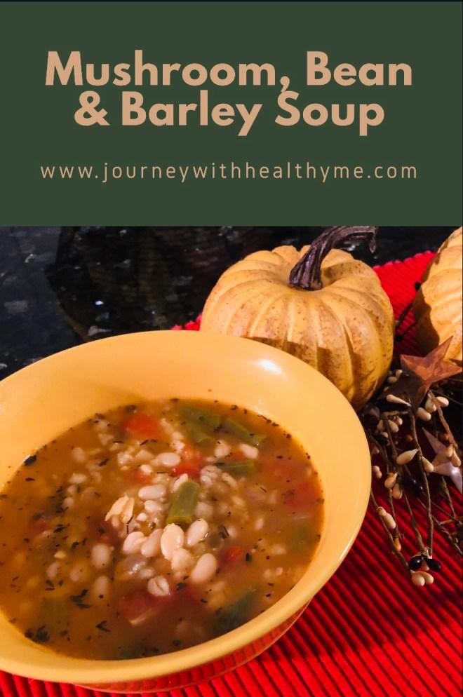 Mushroom Bean and Barley Soup title meme