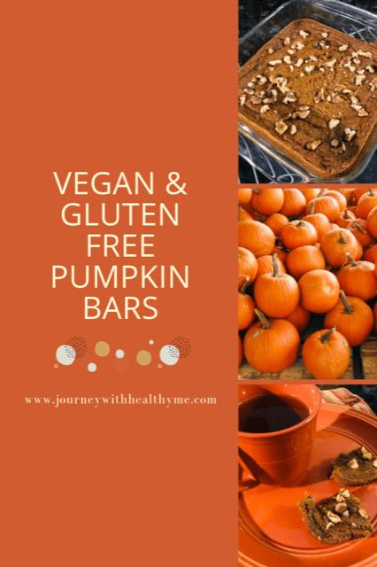 Vegan Gluten Free Pumpkin Bars Title Meme