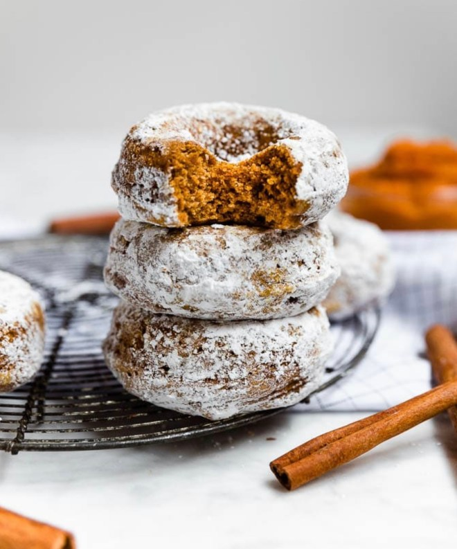 Vegan and Gluten Free Pumpkin Recipes Donuts