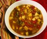 Aloo Matar Soup