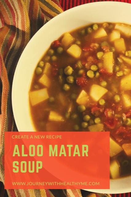 Aloo Matar Soup title meme