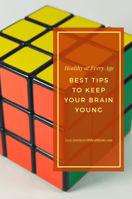 Best Tips to Keep Your Brain Young title meme