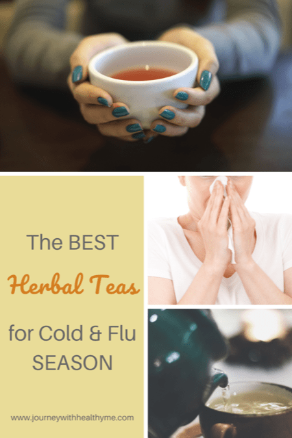 The Best Herbal Teas for Cold and Flu Season title meme