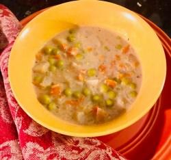 Vegan Pot Pie Soup Ready to Eat