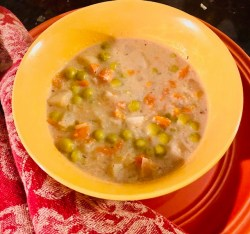 Vegan Pot Pie Soup Ready to Eat