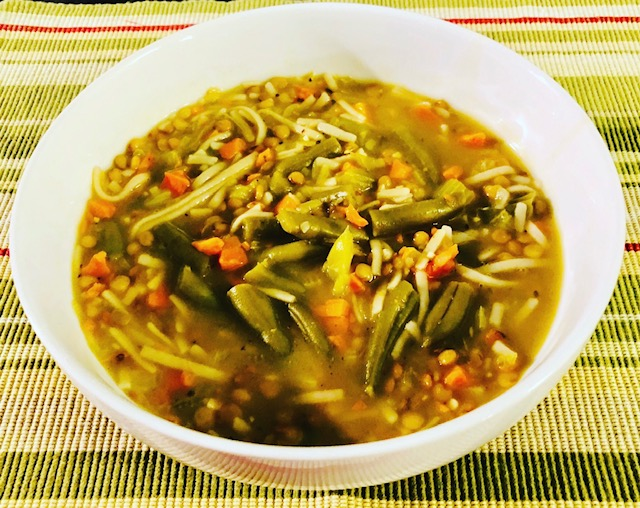 Easy to Make Meals Using 5 Common Staples vegetable noodle soup