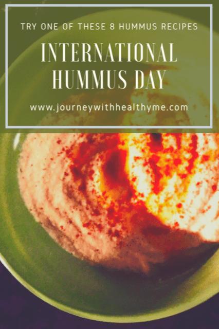 International Hummus Day title meme
