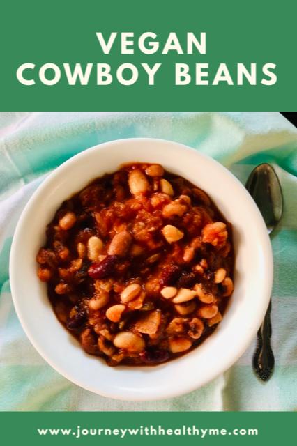 Vegan Cowboy Beans title meme