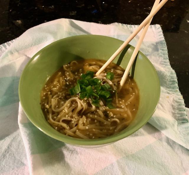 Vegan Ramen Noodles ready to eat