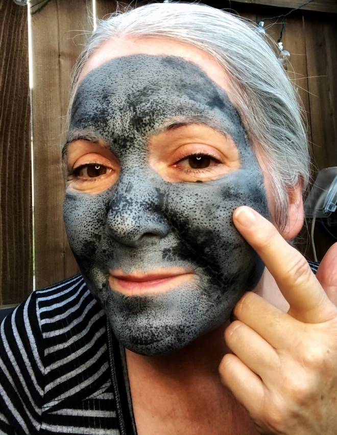 Try a Clay and Charcoal Mask pores