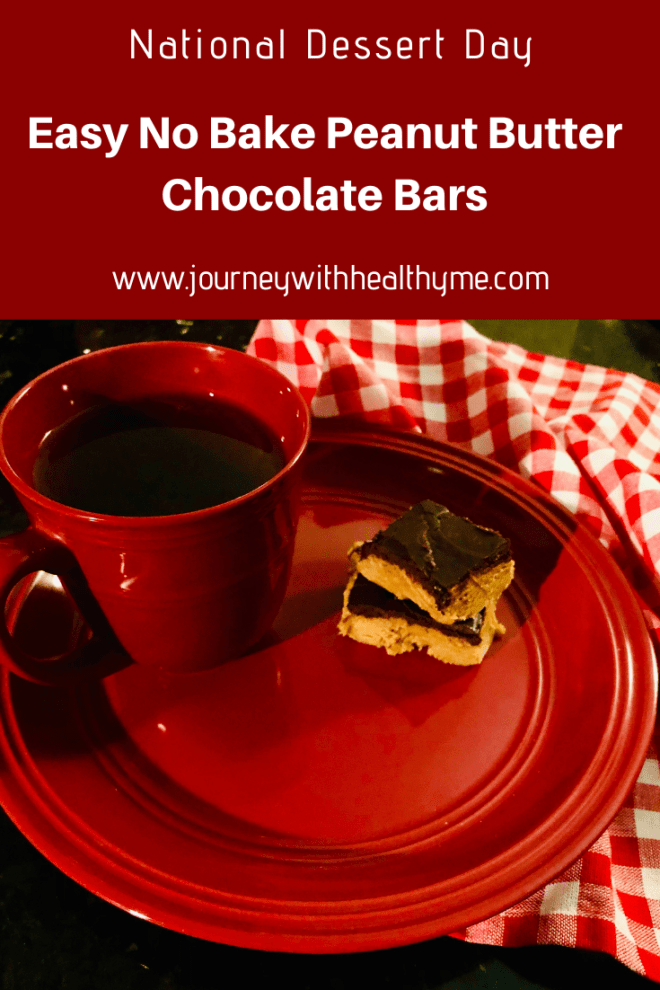 Easy No Bake Peanut Butter Chocolate Bars title meme
