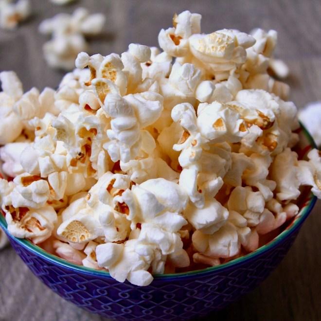 Heart Healthy Snacks popcorn