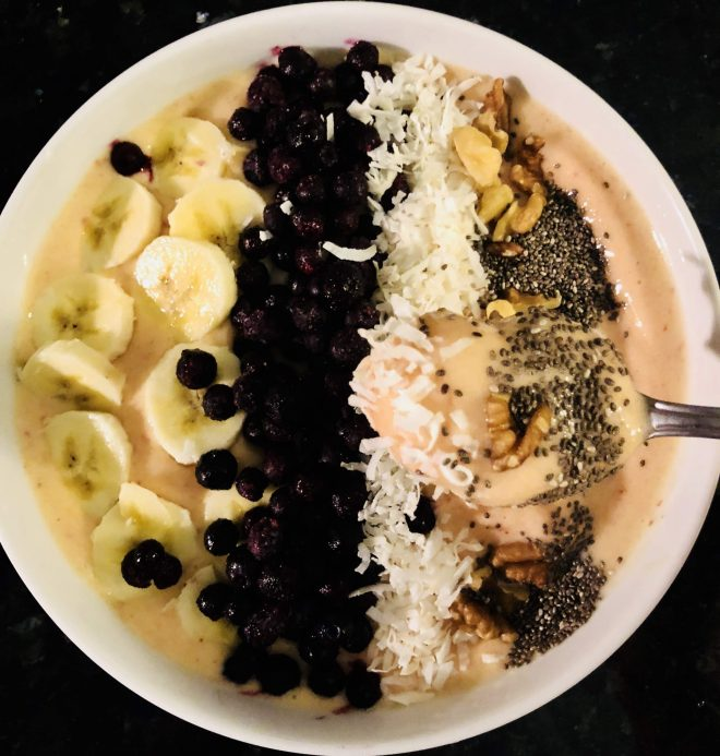 Heart Healthy Snacks smoothie bowl