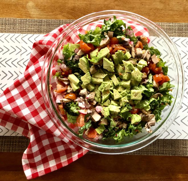 Creating Highly Nutritious Meals chopped salad