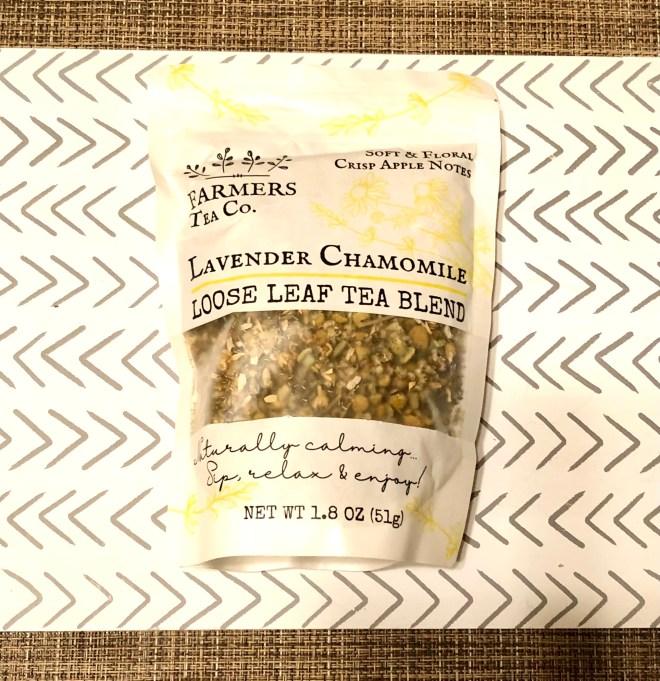 Ease Arthritis Pain lavender chamomile tea