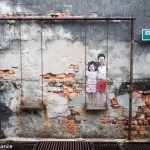 Ernest Zacharevic street art in Georgetown