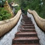 Climbing Phou Si, Luang Prabang