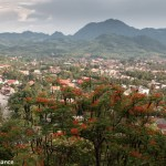 The view from Phou Si, Luang Prabang