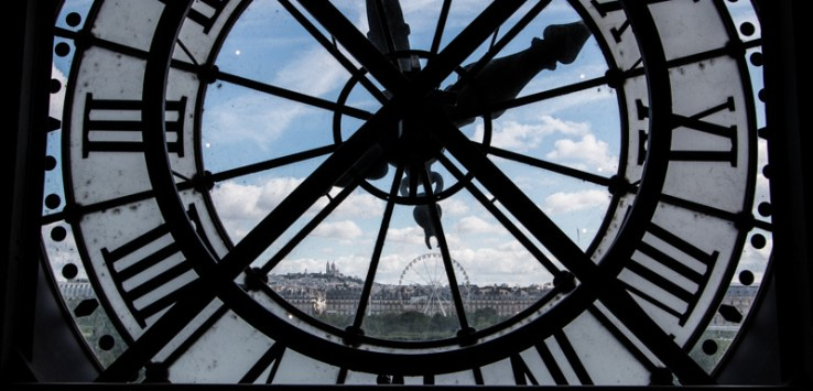 Musee d'Orsay 5th floor clock