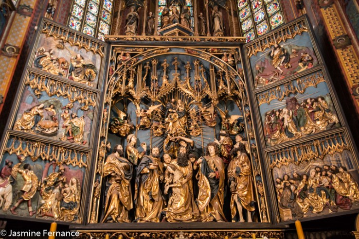 St Mary's Cathedral Altarpiece, Krakow