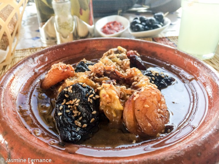 Apricot and prune tagine
