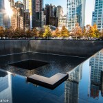 Ground Zero, New York, in Autumn