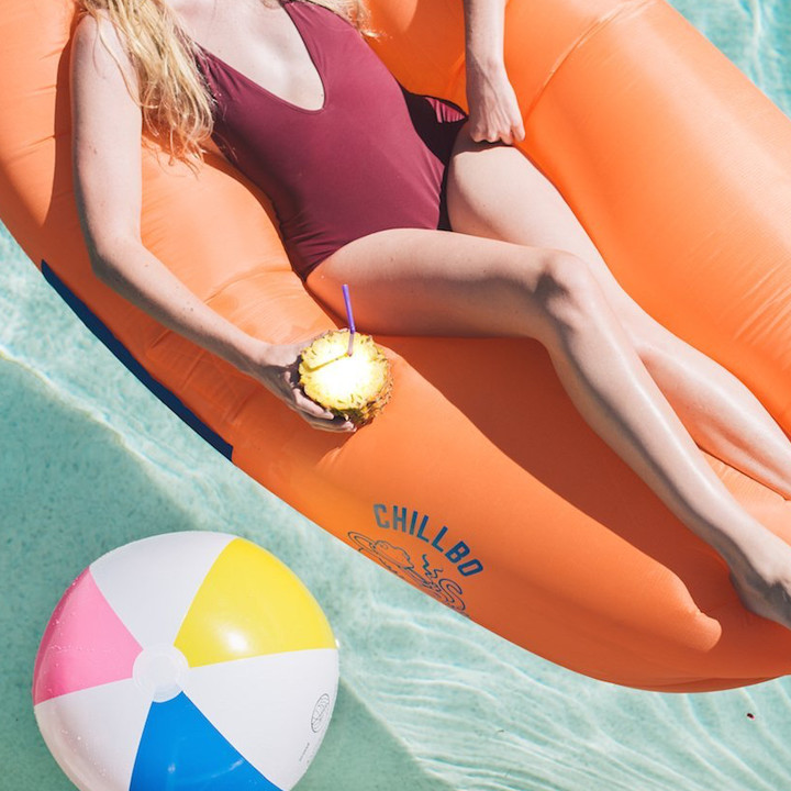 Chillbo Baggins Inflatable Lounger Hangout Sofa!