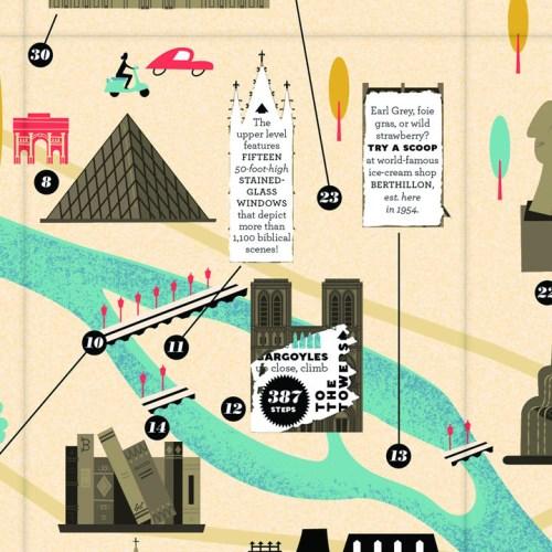 city scratch off map