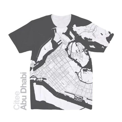 citee map t-shirt