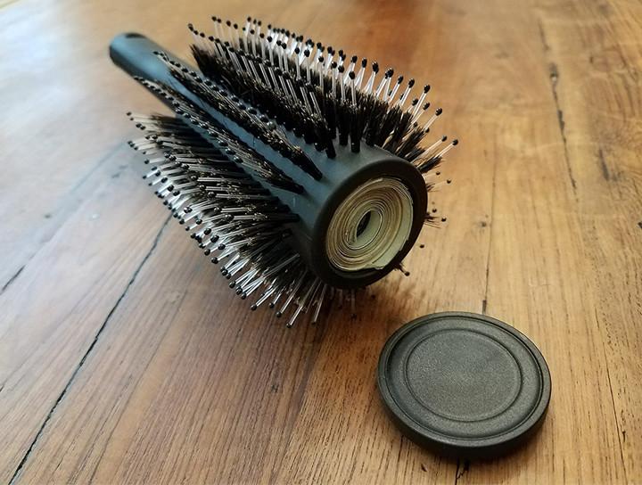 Hair Brush Diversion Safe