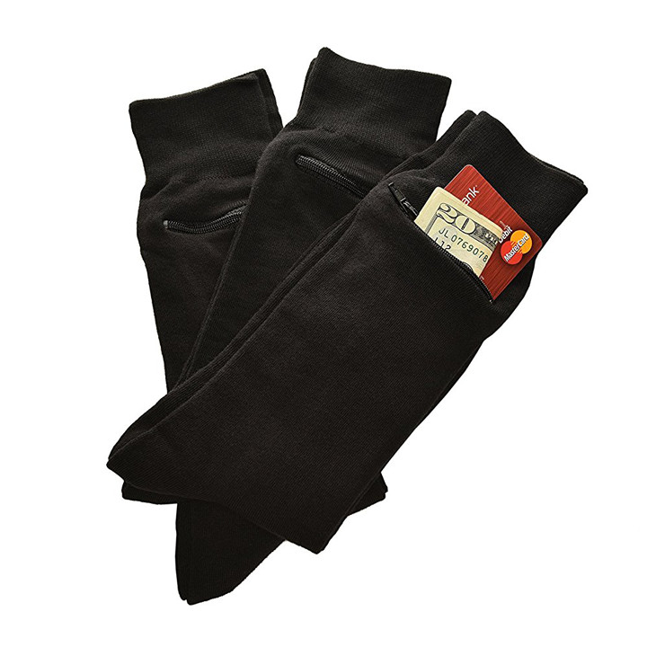 Money sock pocket