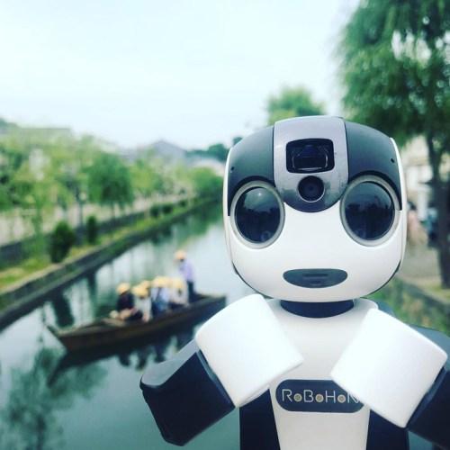 RoBoHon robot companion